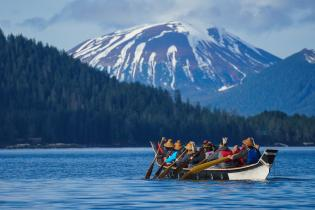 Tribal members explore Alaskan waters